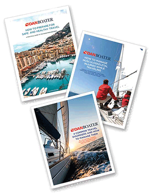 DAN Boater travel health and safety guides