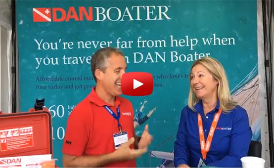Chesapeake Bay Magazine interviews DAN Boater - Facebook Live video