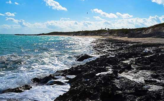 a beach in Cuba