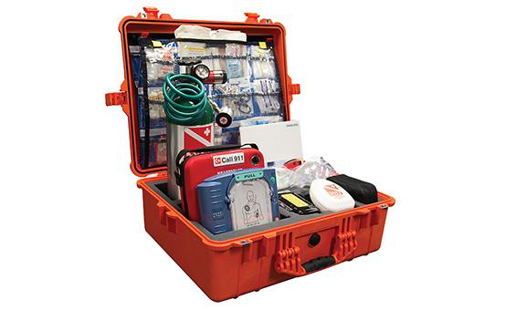 DAN Boater Cardiac Complete Marine First Aid Kit