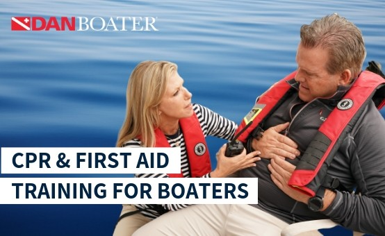 About DAN's BLS: CPR and First Aid Course for Boaters