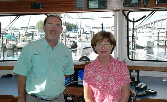 Henry and Debbie continue their world travels aboard the Seven Tenths