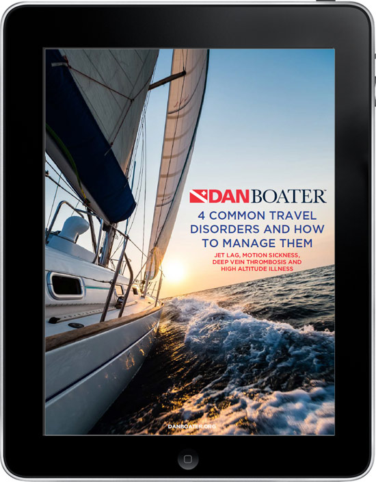 Digital cover of the '4 Common Travel Disorders and How to Manage Them' guide