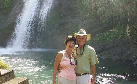 Larry and Ann-Marie in Guatemala